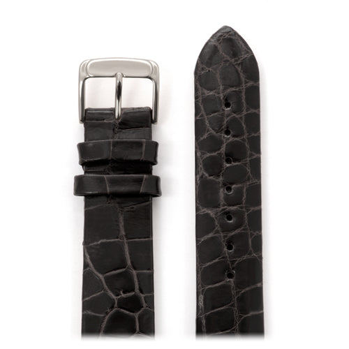 Genuine Leather Alligator 17mm Watchband