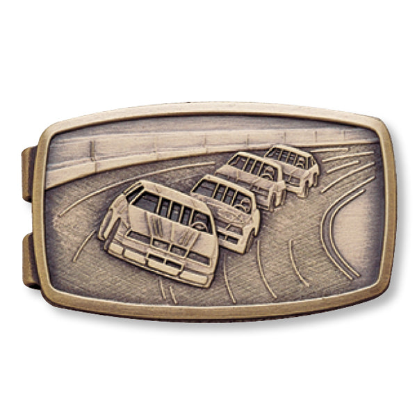 Race Car Money Clip