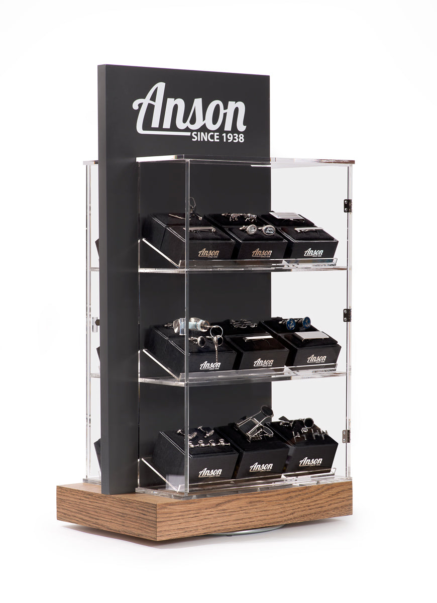 Anson Display with Best Sellers Assortment