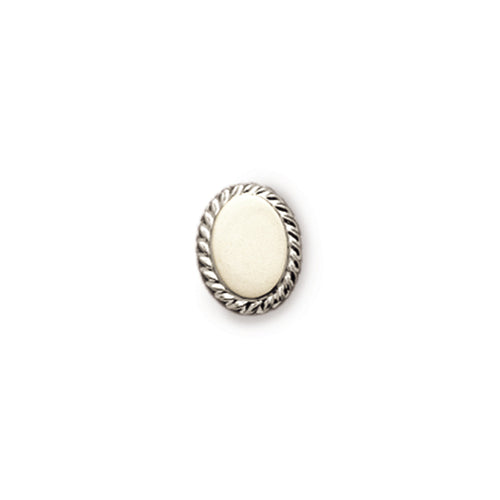 Oval Rope Tie Tack