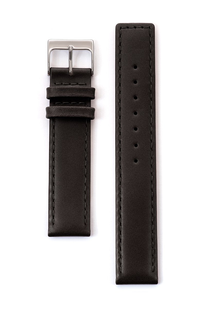 Men's Square Tip Padded Oiled Leather Band in Black, Brown and Honey