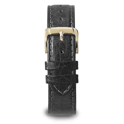 Men's Sport Calf Leather Band in Black Brown and Honey