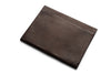 Leather Document Envelope In Brown Or Black