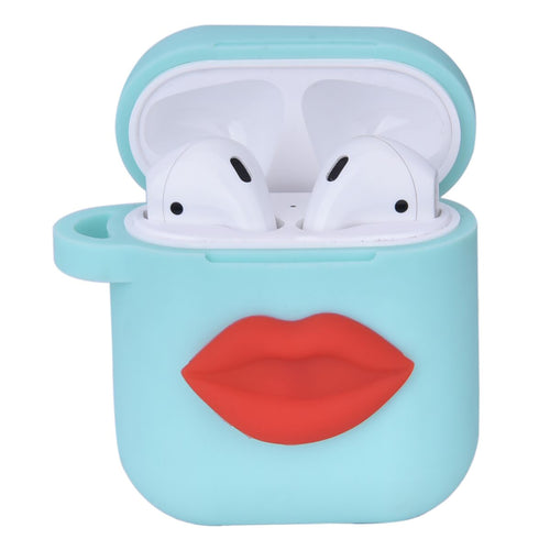 Apple™ Air Pods in Mint with Lip Design