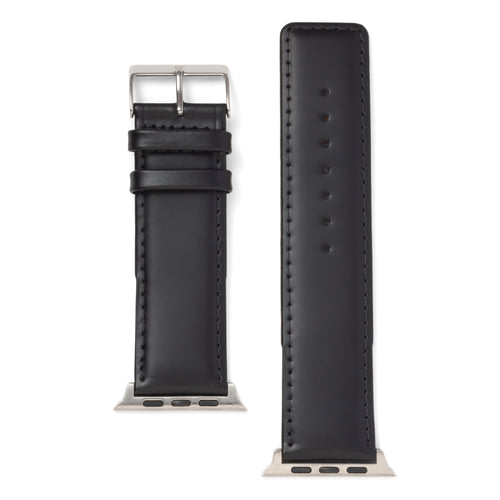 Square Tip Oiled Leather For the Apple Watch