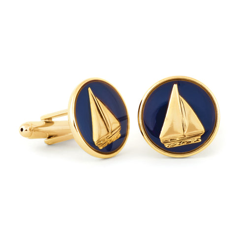 Moonlight Sail Cuff Links