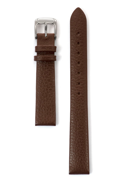 Ladies' Fine Cowhide Grain Leather Band in Black and Brown