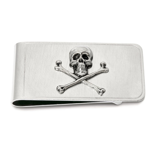 Skull & Crossbones Money Clip