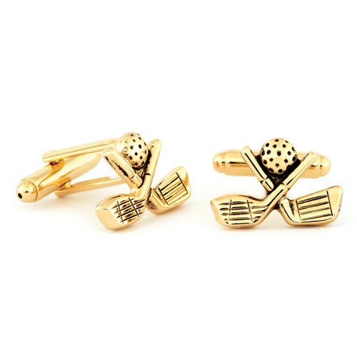 Golf Club Cuff Links