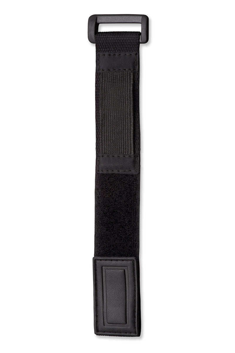 Nylon Wrap Band Black Stitching