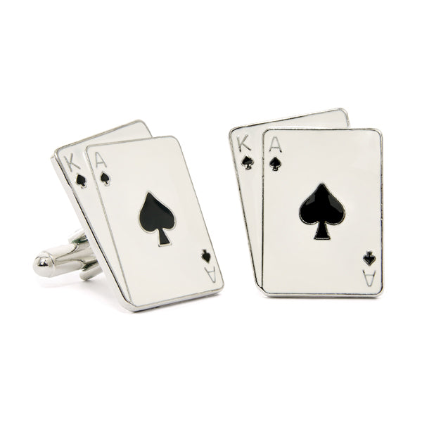 Ace & King Cuff Links