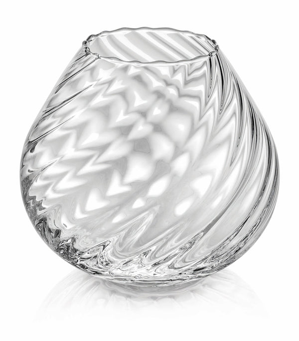 NUVOLA VASE H. 16.5 CM CLEAR