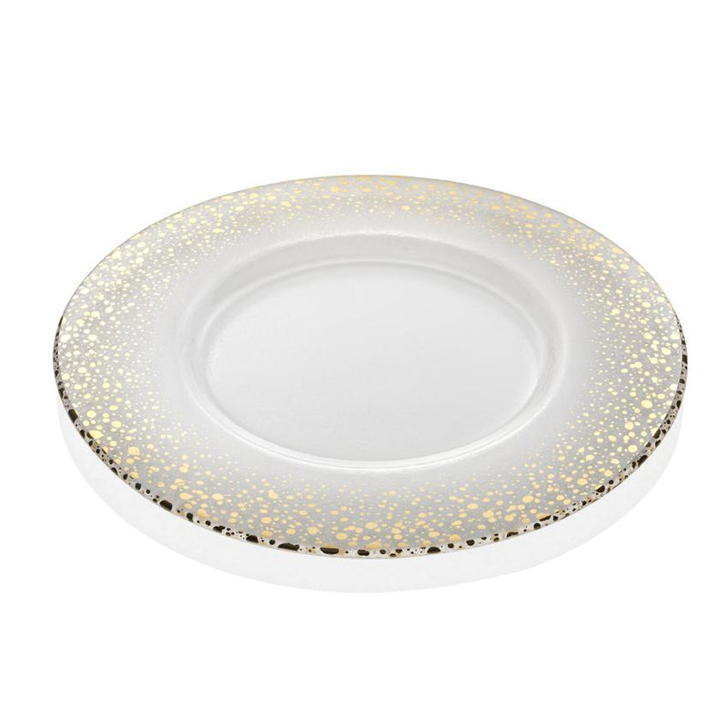 SPARKLING CHARGER GOLD DECORATION