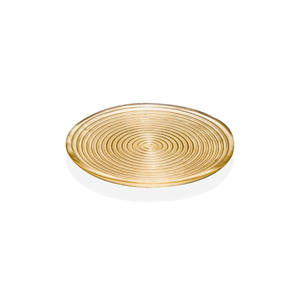 VERTIGO PLATE GOLD DECORATION