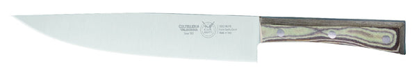 CARVING KNIFE CM 23 PAPERSTONE - total profile with PAPERSTONE handle and INOX rivets