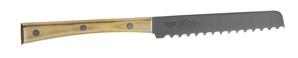 TOMATO KNIFE CM 12 PAPERSTONE - total profile with PAPERSTONE handle and INOX rivets