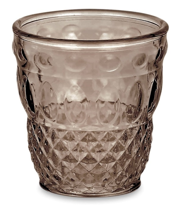 SER LAPO SET 6 TUMBLERS BRONZE GREY