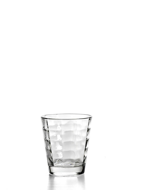 CARRE' TUMBLER CLEAR