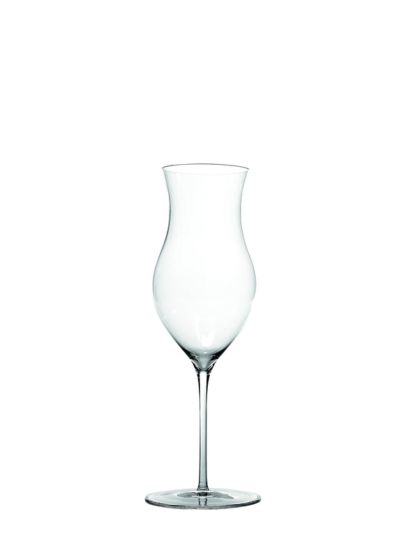 ULTRALIGHT GOBLET UL04100 Hand-made in lead-free crystal glass cl 41 h cm 245 for special sweet wines and distillates - 2 pieces packaging