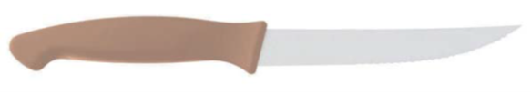 STEAK KNIFE CM 12 BEIGE HANDLE
