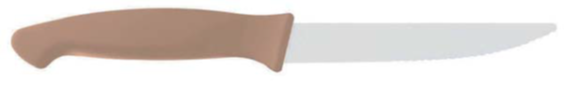 TABLE KNIFE 12 CM BEIGE HANDLE