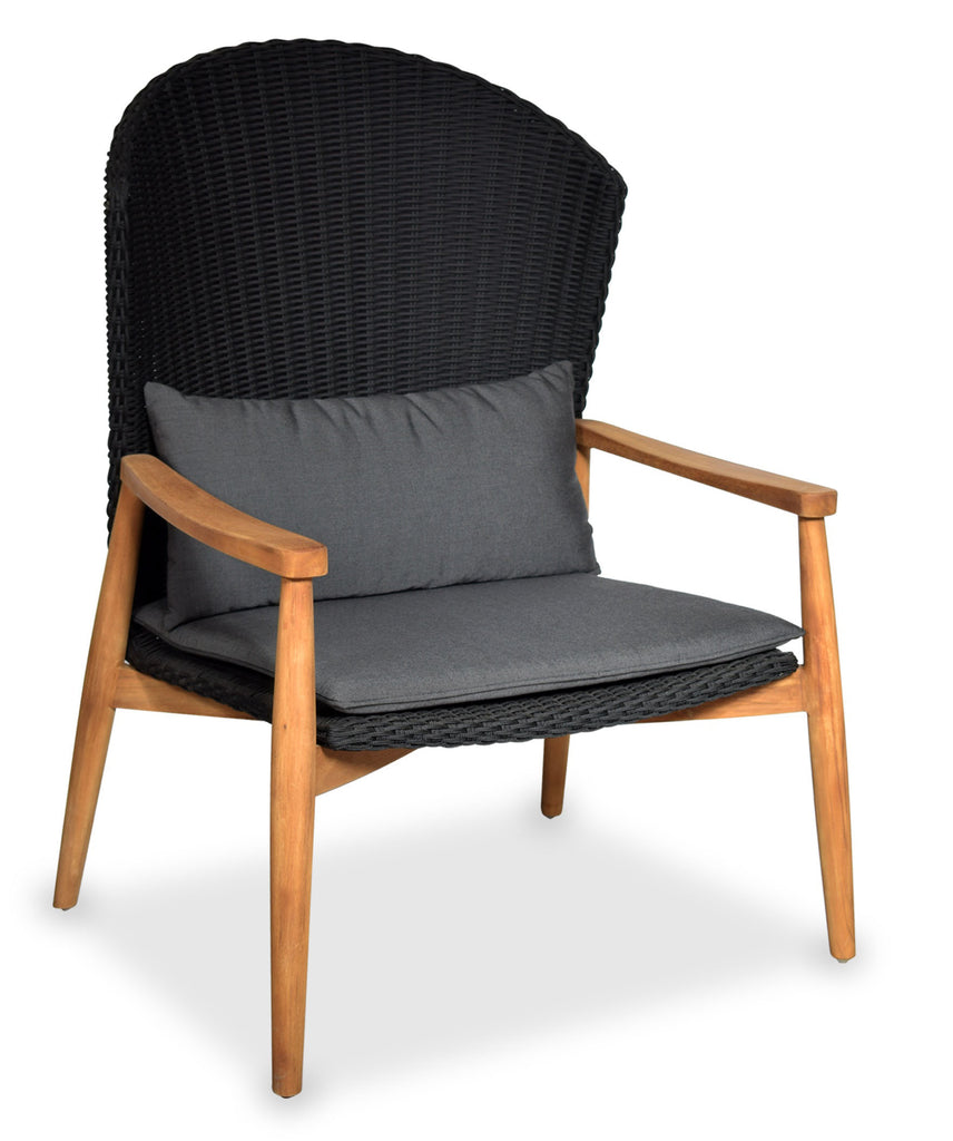 Mika High Back Arm Chair