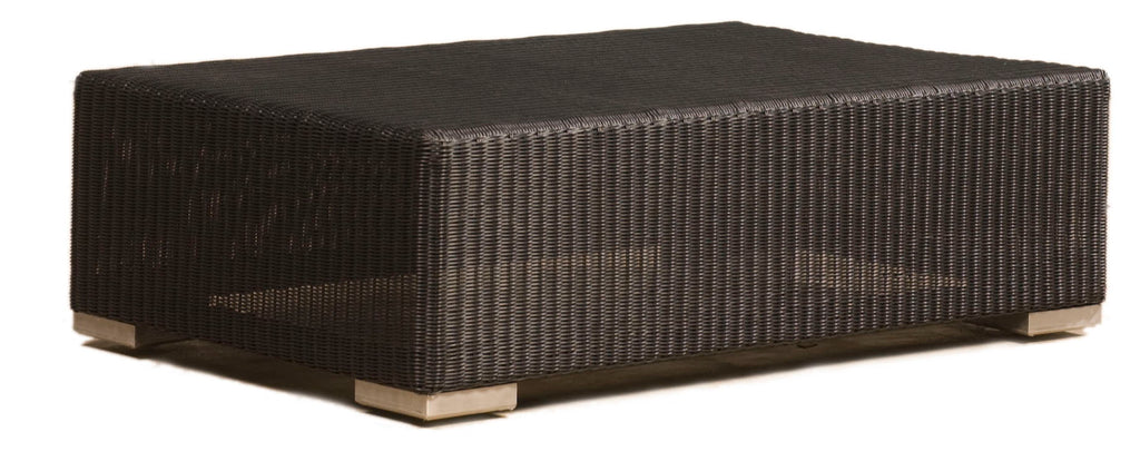 Aspen Cord Footstool/Sidetable - Medium - Black - Frame Only