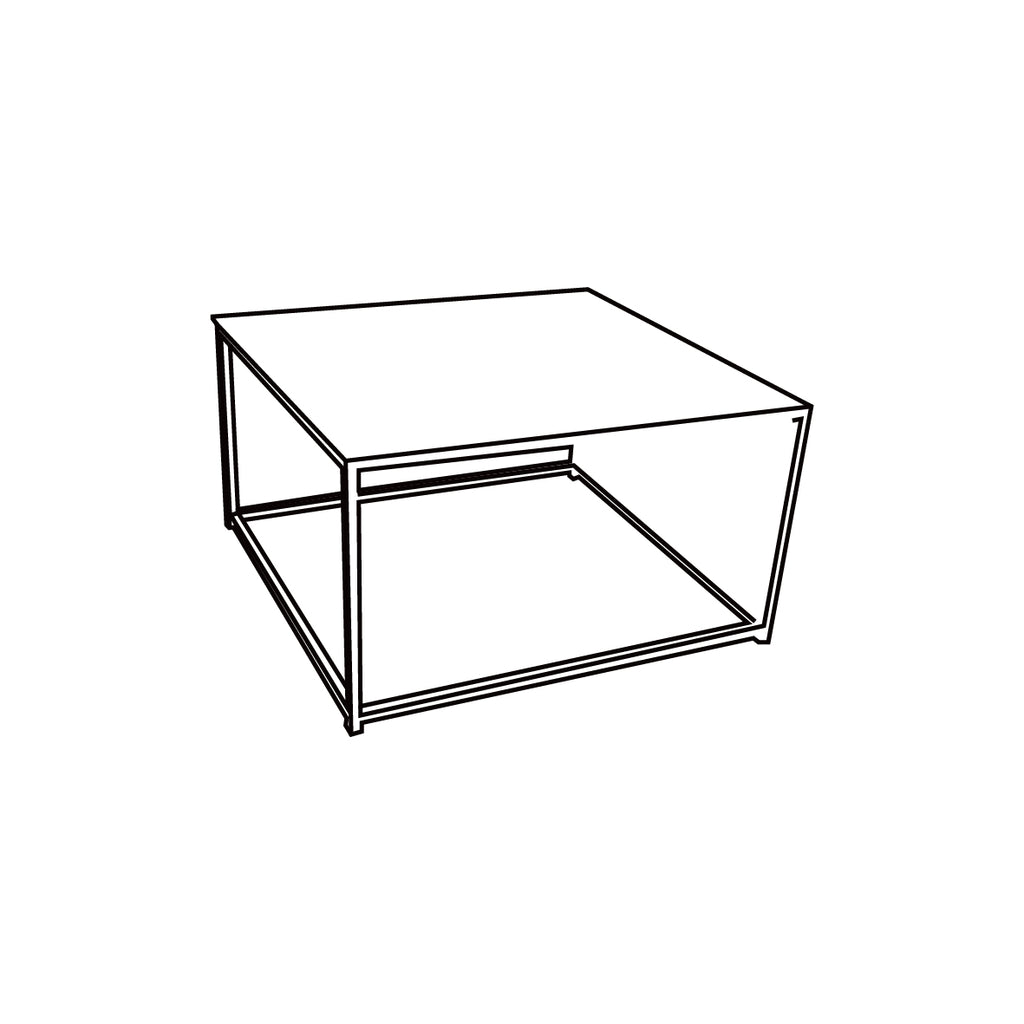 New York Square Coffee Table