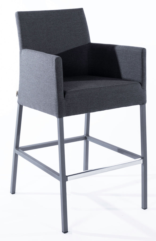 Savage Bar Arm Chair - Dark Grey Frame