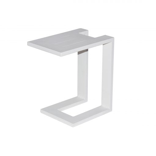U Side Table - White