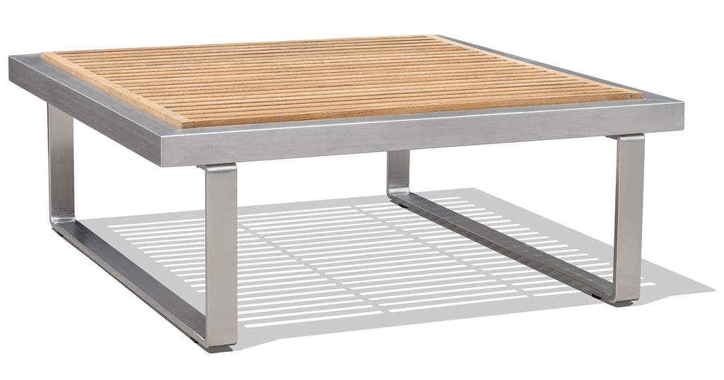 Adonis Coffee Table - Teak Slats