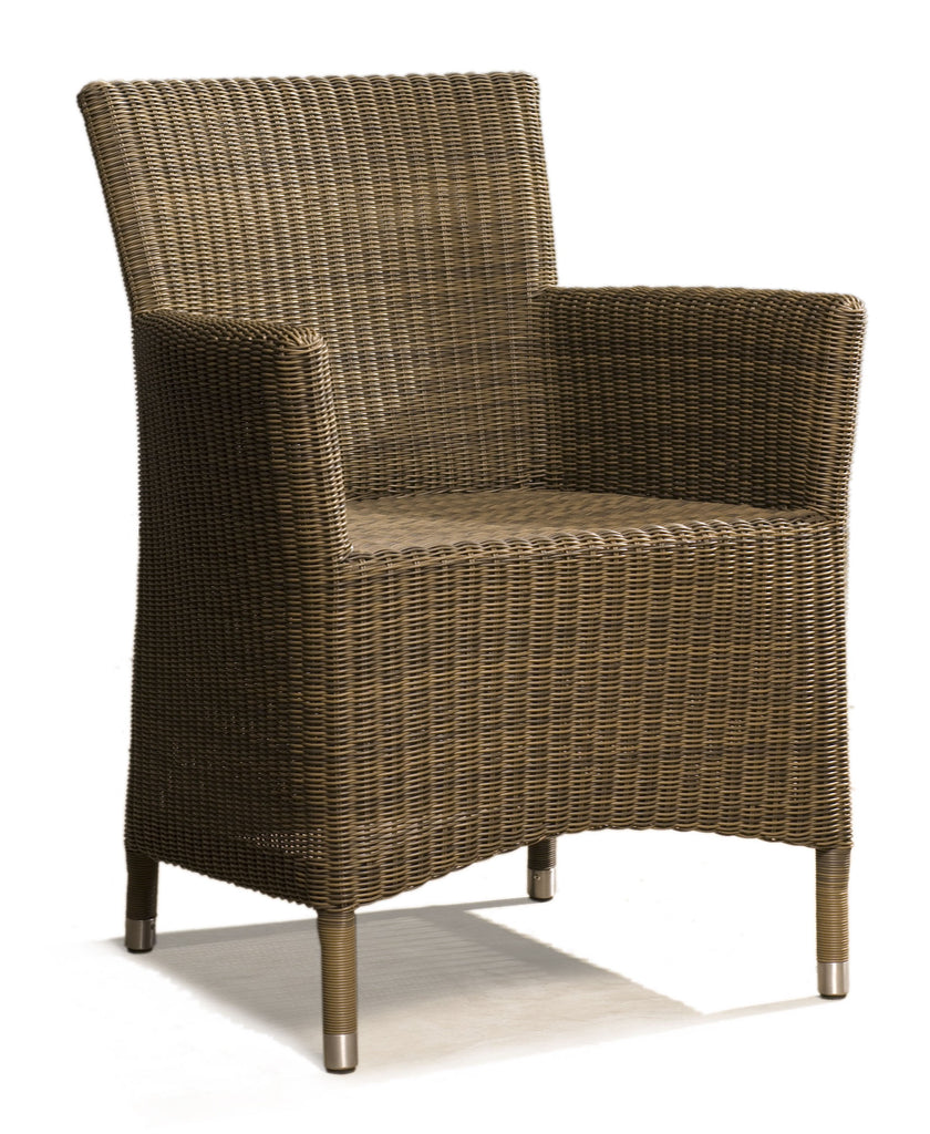 Hawaii Arm Chair - Coffee Brown