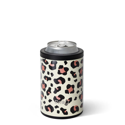 12oz Can Cooler Luxy Leopard