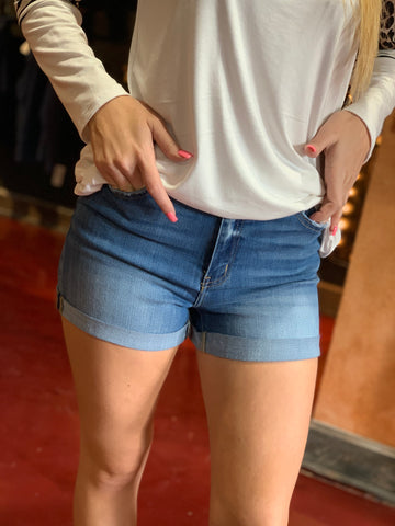 Hazel High Rise KanCan Shorts