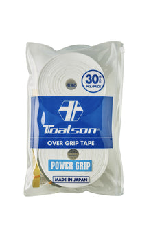 Toalson Power Grip 30-Pack Vit