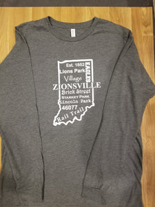 Zionsville Notable Long Sleeve Tee