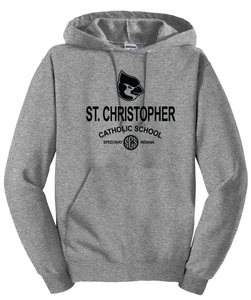 St. Christopher JERZEES® - NuBlend® Pullover Hooded Sweatshirt Oxford