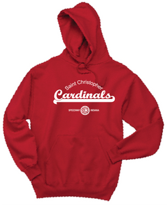 St. Christopher JERZEES® - NuBlend® Pullover Hooded Sweatshirt True Red