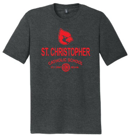 St. Christopher District Made Perfect Tri T-Shirt - Black Frost