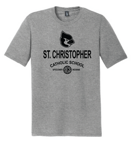 St. Christopher District Made Perfect Tri T-Shirt - Grey Frost