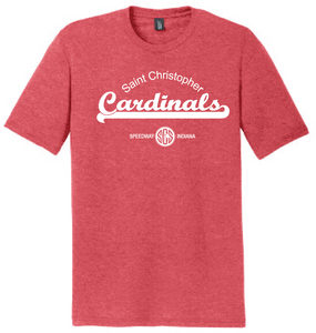 St. Christopher District Made Perfect Tri T-Shirt - Red Frost