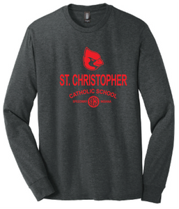 St. Christopher District Made Perfect Tri Long Sleeve T-Shirt - Black Frost