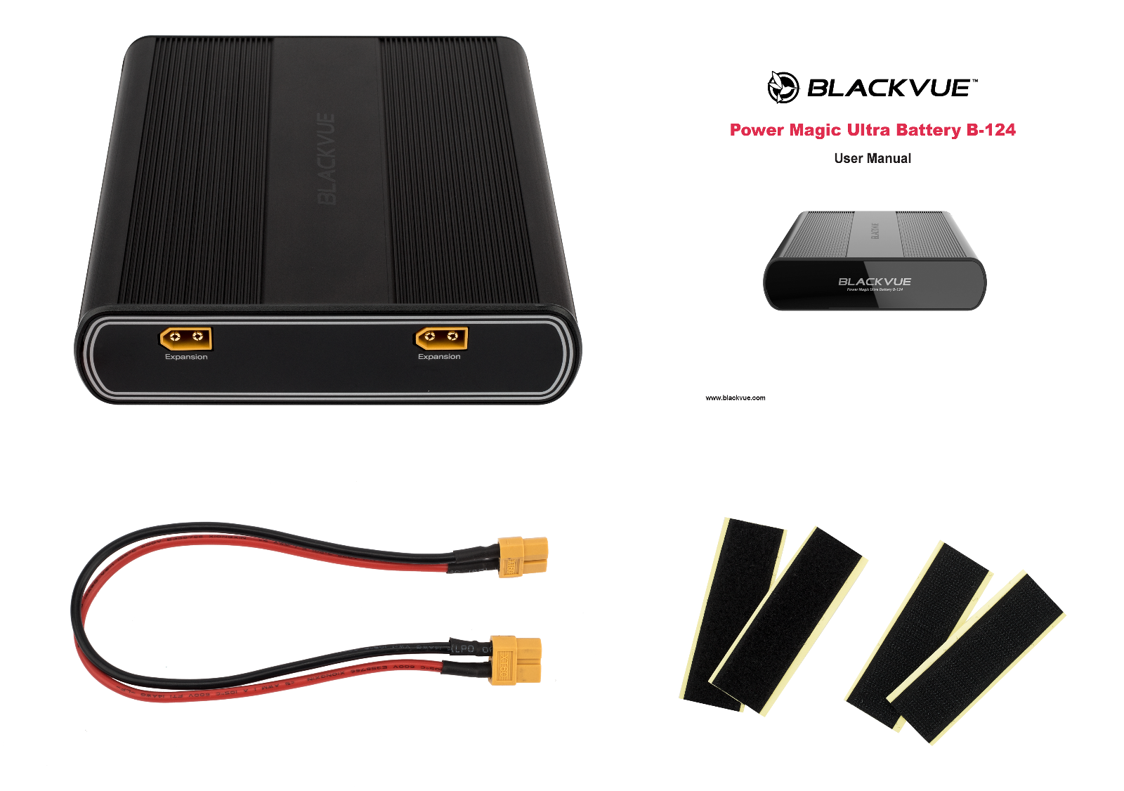BlackVue Power Magic Ultra Battery Expansion Pack (B-124E)