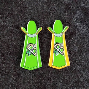 Ranged skill cape enamel pin