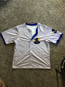 'Magic' themed baseball jersey