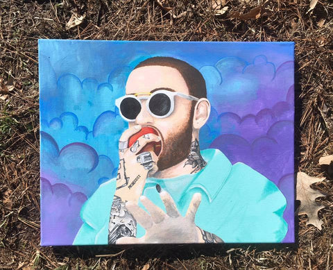 Mac Miller canvas og - TLC Pins