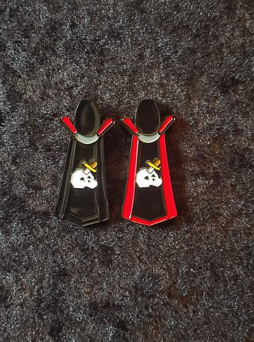 'Slayer' skill cape enamel pin