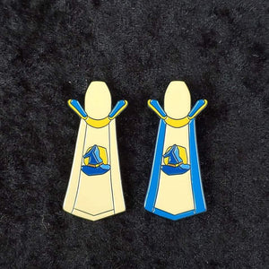 'Magic' skill cape enamel pin