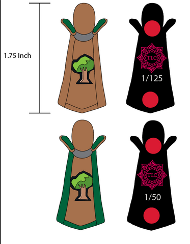'Woodcutting' Cape set PRE ORDER - TLC Pins