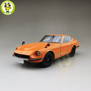 1/18 Autoart 77436 1969 Fairlady Z432 PS30 Diecast Model Car Toys Boys Girls Birthday Gift Orange - thegsnd